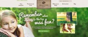 woodland trust memories